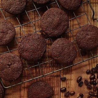 Chocolate Coffee Cardamom Biscuits