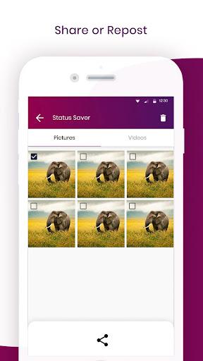 Status Saver, repost, Video Downloader for Tik Tok 1.9 screenshots 3