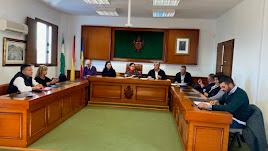 Pleno celebrado recientemente en Mojácar.