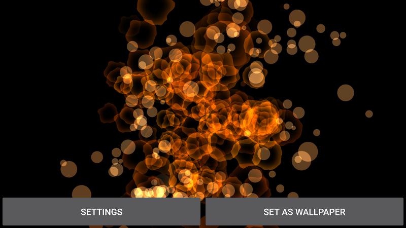 Abstract Particles Wallpaper Screenshot 13