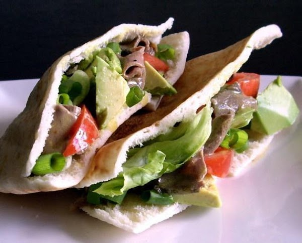 Beef Avocado Pockets Recipe
