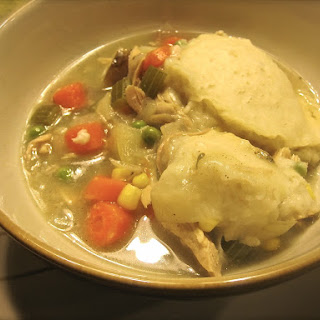 Slow-Cooker Turkey Stew with Dumplings