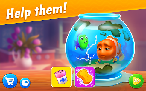 Fishdom 5.23.0 MOD APK (Unlimited Everything) 1