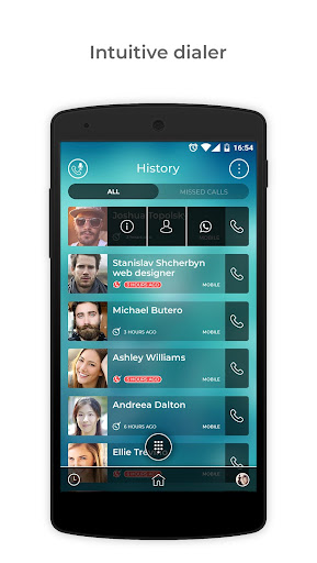 Eyecon: Caller ID, Calls, Phone Book & Contacts - screenshot