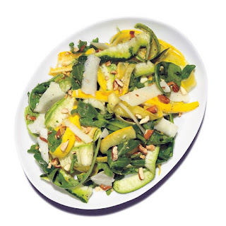 Shaved Summer Squash Salad Recipe