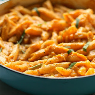 Creamy Butternut Pasta with Truffle Oil Recipe