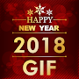New Year GIF - Animated 2018 APK icon