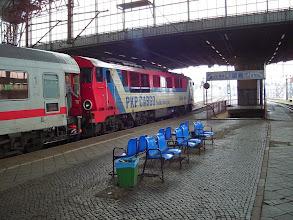 Photo: Legnica: SU46-011 ze składem EC240 relacji Kraków - Hamburg