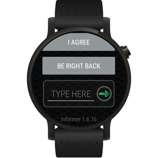 Informer for Wear OS (Android Wear)  screenshots 13