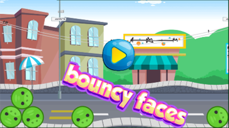 android Bouncy Faces Screenshot 0