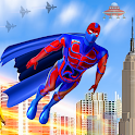Superhero Captain Robot Games: Super Hero Man Game icon