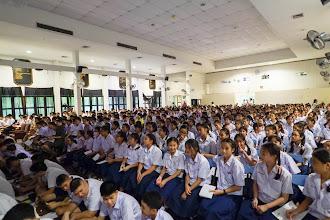Photo: นักเรียนทั้งโรงเรียน