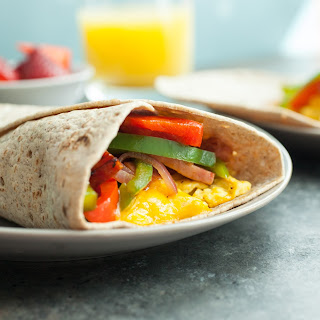 Mile High Breakfast Wraps Recipe