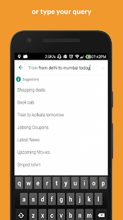 HelpX AI: Shop, Cab, Train, News & More- screenshot thumbnail