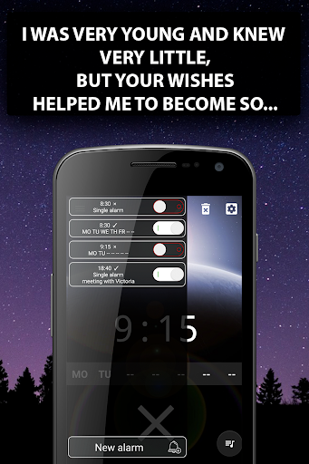 Alarm clock Malarm ⏰ Without stress. Without ads. screenshot 2