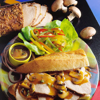 Pork Au Jus Sandwiches Recipe