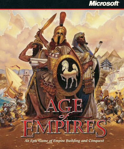 Video game instruction book:Age of Empires Instruction Book