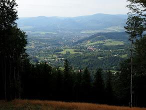 Photo: Pierwszy raz na czarnym szlaku natrafiłem na takie okienko na Czechy :)
