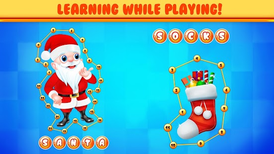 Connect Dots Kids Puzzle Game - Christmas Fun - náhled