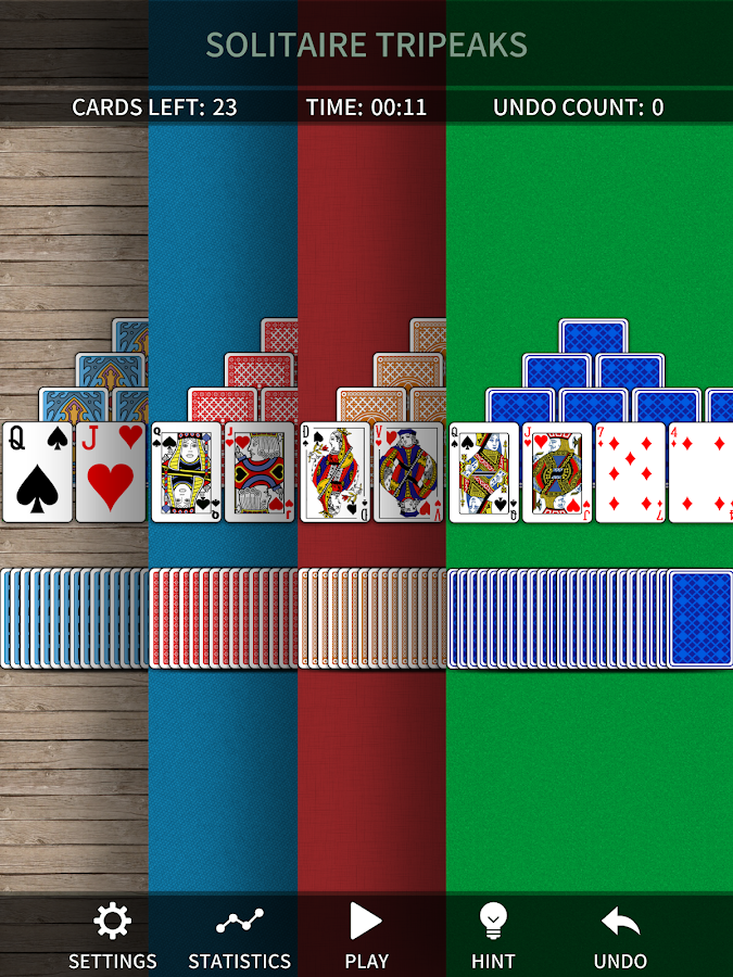 TriPeaks Solitaire Free- screenshot