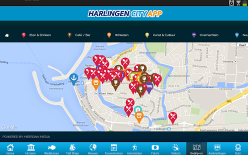 Harlingen City App: miniatuur van screenshot