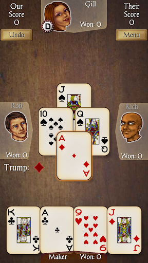 Euchre Free screenshot 1