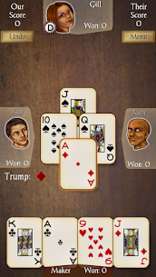 Euchre Free 1.384 Mod Android Updated 1