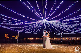 Bride and groom at First Landing
