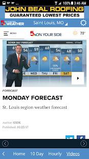 KSDK Weather - náhled