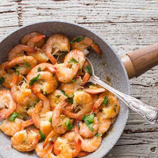 Italian Sautéed shrimp.