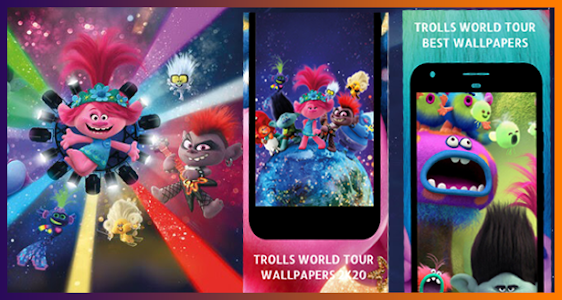 Wallpapers for Trolls World Tour HD 8.1.8