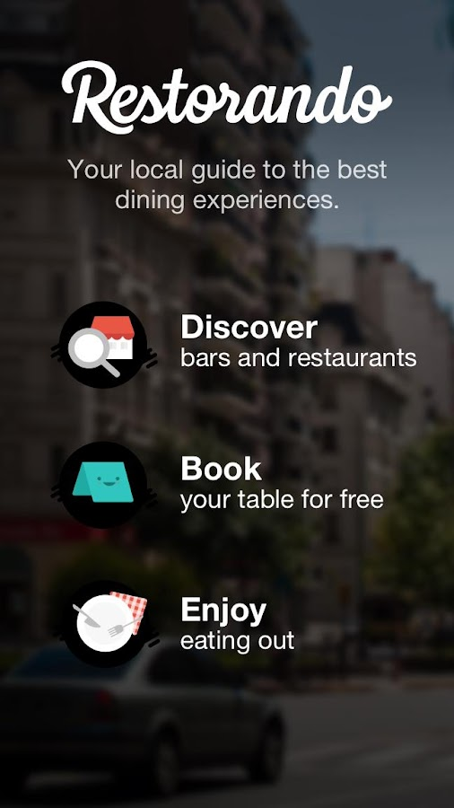 Restorando: Restaurants Bars Reservations Offers- screenshot