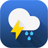 Weather Forecast Widget Clock