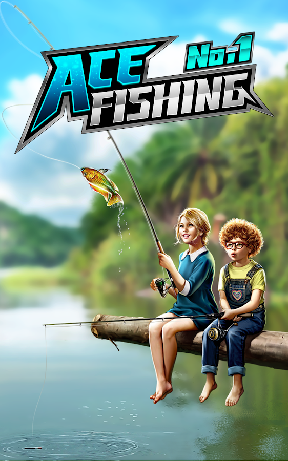 Ace fishing wild catch android apps on google play for Best fishing game android