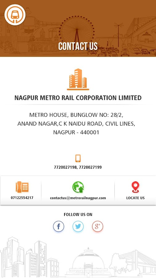 Nagpur Metro Official App- screenshot