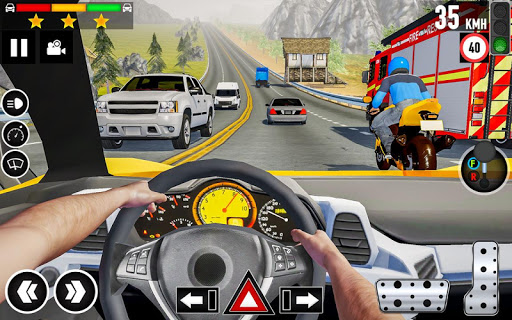 Car Driving School 2020: Real Driving Academy Test modavailable screenshots 1