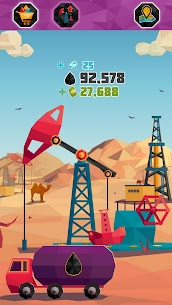 Idle Oil Tycoon MOD APK (Free Shopping) 4