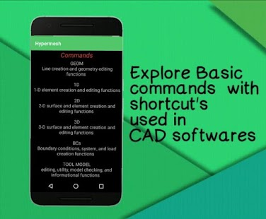 CAD Commands - náhled