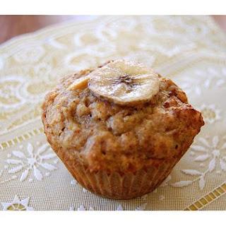 Peanut Butter Banana Muffins.