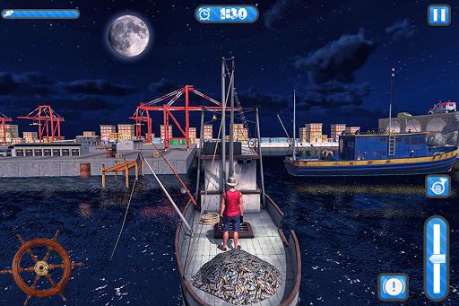 Fishing Ship Simulator 2020 : Fish Boat Game painmod.com screenshots 11