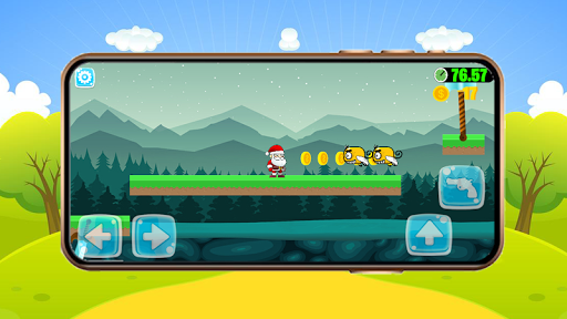 Super Jungle Santa Adventures - New Adventure Game android2mod screenshots 13