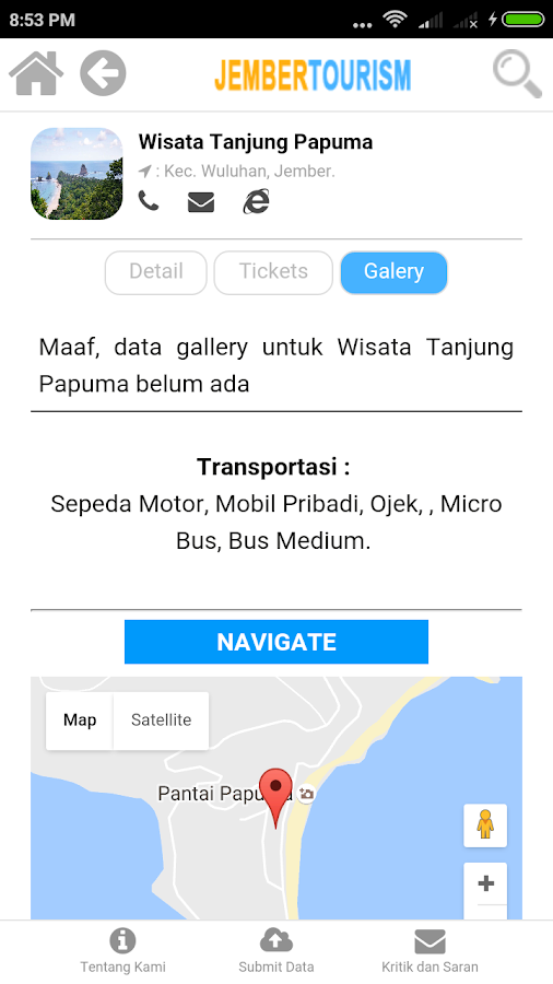 Jember Tourism- screenshot