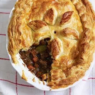 Mary Berry's steak and Guinness pie.