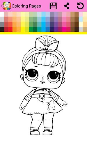 Surprise Lol Dolls Coloring Book Screenshot 17