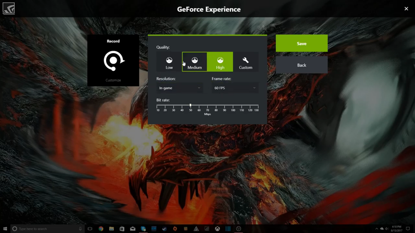 How To Record Games using Nvidia ShadowPlay 7