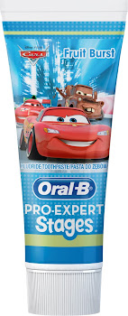 Oral-B Pro-Expert Stages Kids Toothpaste - Fruit Burst, 75 ml