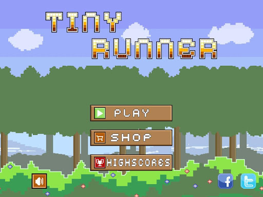 Tiny Runner -- endless running game
