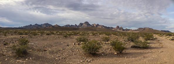 Photo: Desert peak panorama, Mojave Desert