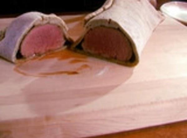 Salt-crusted Roast Beef Recipe