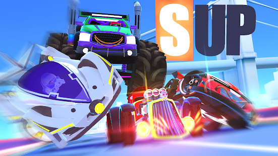 SUP Multiplayer Racing Screenshot